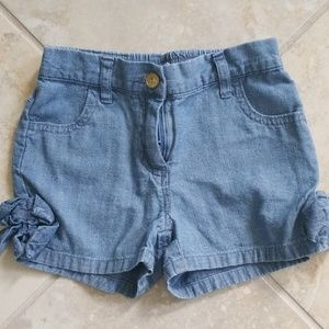 Janie and Jack chambray shorts